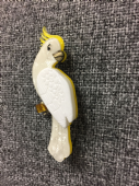 "Erstwilder Cockatoo Brooch - Limited Edition "" Carnaboo  Cockatoo"" Pin (SOLD)"